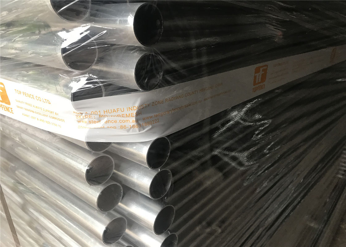 OD 40mm wall thickness x 1.60mm 2.1m height x 2.4m width AS4687-2007 standard Mesh 60mm x 150mm x 3.00mm supplier