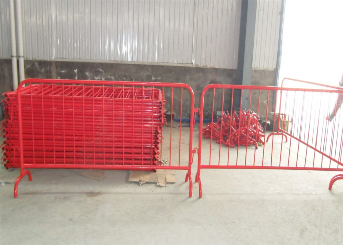 Crowd Control Barriers Manufacturers directly supply RAL 2004 Dupont Powder Coated Crowd Control Barriers supplier