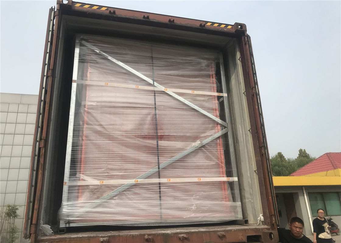 Hot dipped Galvanized Temporary Fencing Panels 42 microns hdg tube wall thick 2.00mm and wire 3.0 mm 60mm*150mm supplier