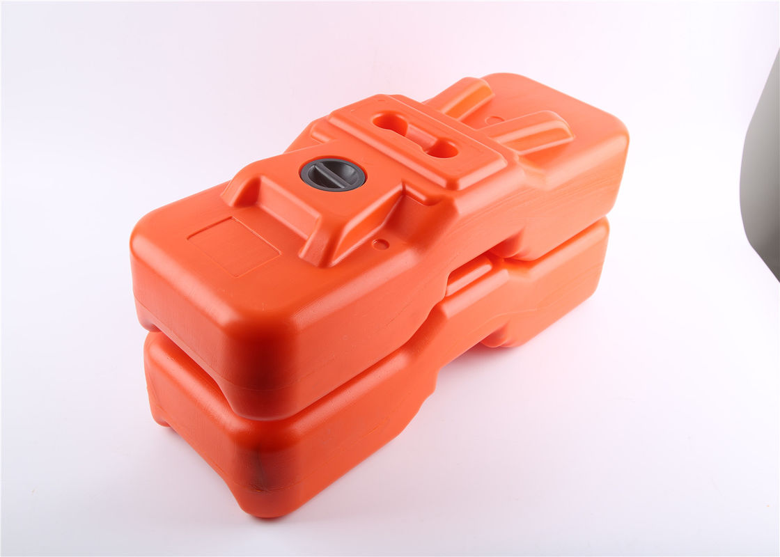Water Filled TYPE base 600 x 220 x 150mm orange color 10 Year No color  fading HDPE 5502 supplier