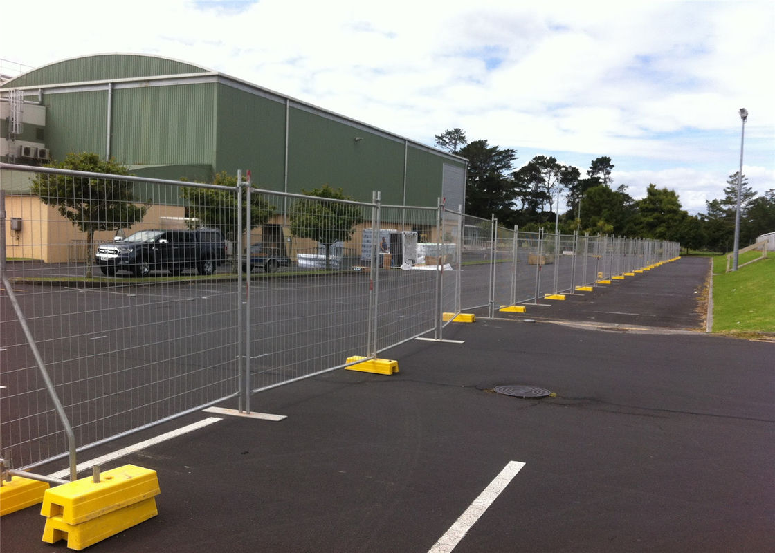 AS/NZS standard OD 40mm tube temporary construction fence panels 2.1m height fully hot dipped galvanized supplier