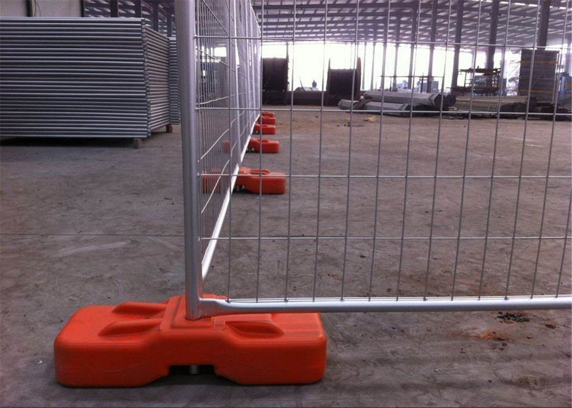 OD 40mm tube temp construction fence panels /temporary fencing panels 2.1m x 2.5m Plus Length Design supplier