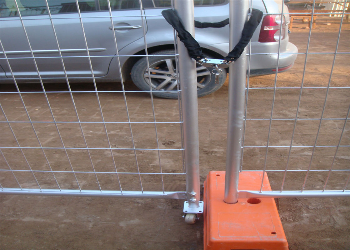 Construction Site Temporary Fence Panels /Temp Fence Panels OD 40mm tubing 2.1mx2.35m for SYDNEY market supplier