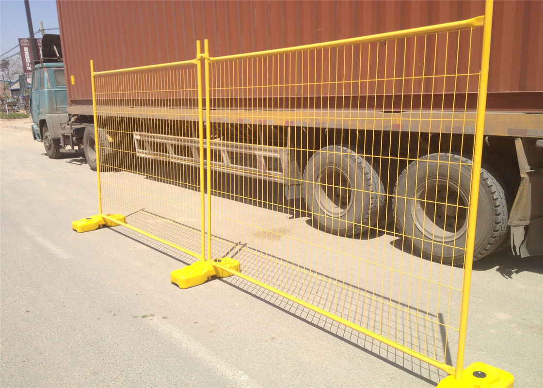 Construction Temp Fence Panels 2100mm*2400mm OD 41.2mm Wall thick 1.6mm Mesh 60mm*150mm Diameter 4.00mm supplier
