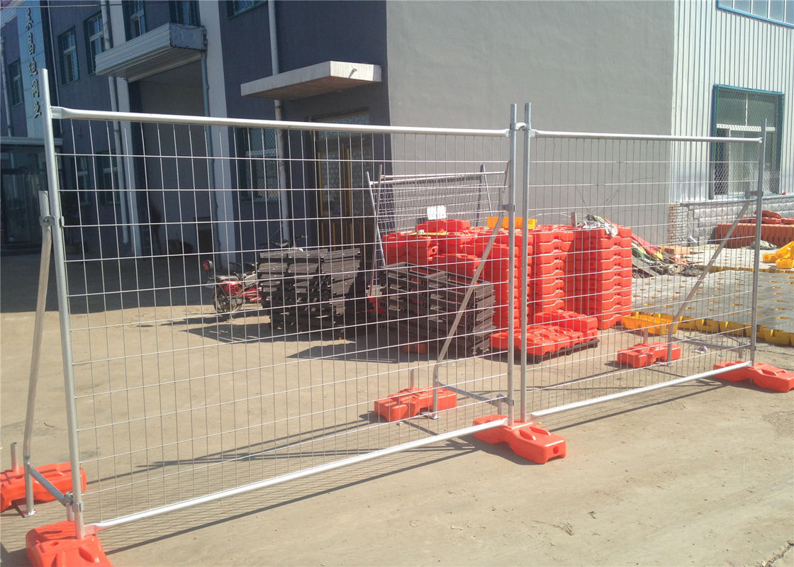 New Casttle Construction Temporary Fencing Panels Base Made in Australia Design In China 2.1mx2.4m UV 10 level supplier