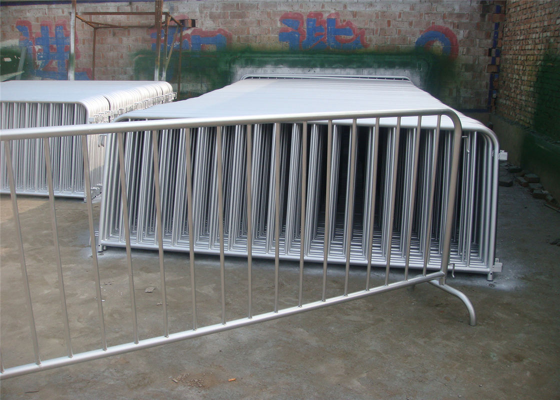 Customized Metal Crowd Control Barrier Portable Barricades