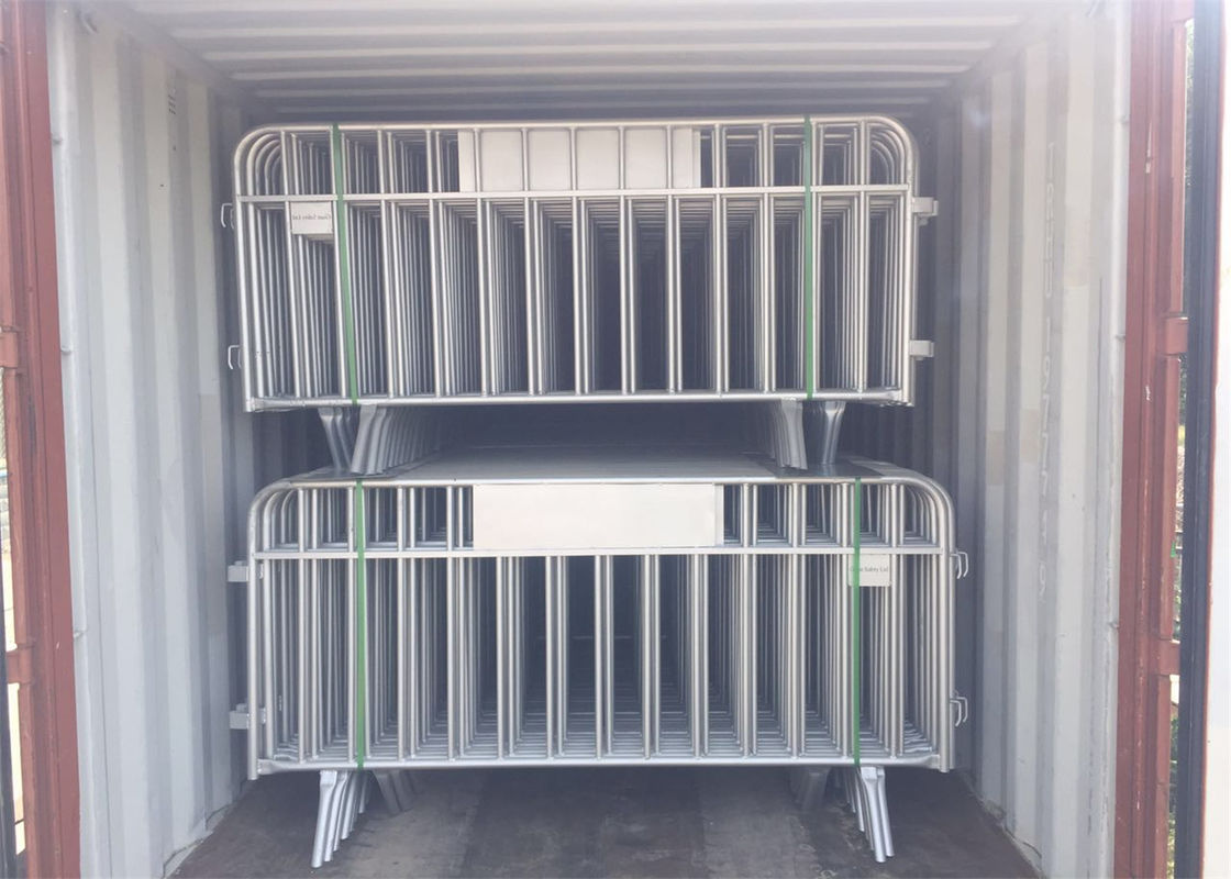 Galvanized Temporary Fence Crowd Control Barrier supplier