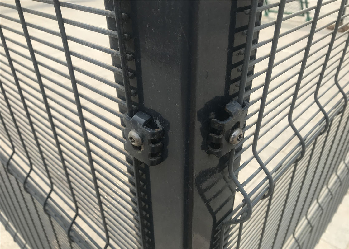 High Security Powder Coated Clearvu Fence supplier