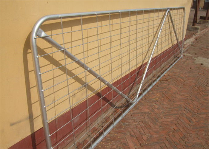 Powder Coated Heavy Duty Gate N Stay 12' (3600mm) 2.3mm wall thick - Mesh Metal Farm Gates supplier