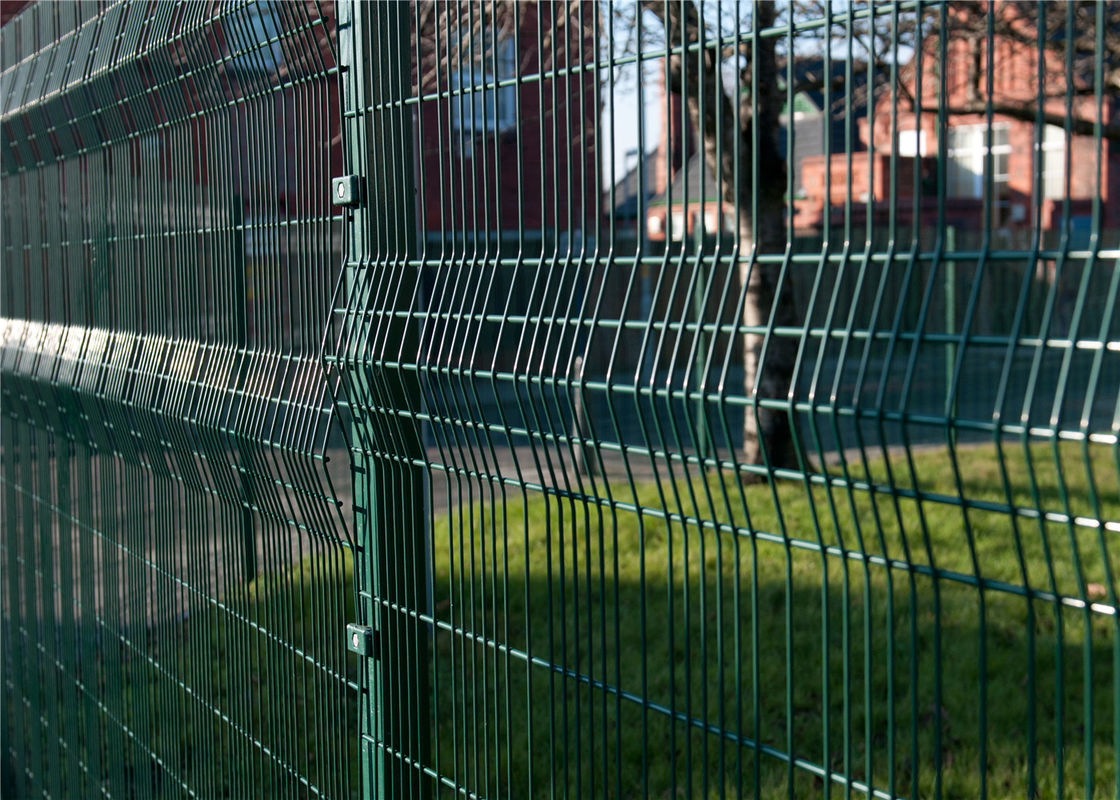 Anti Climb Security Fence / ClearVu Security Fence For House Garden Prison Airport supplier
