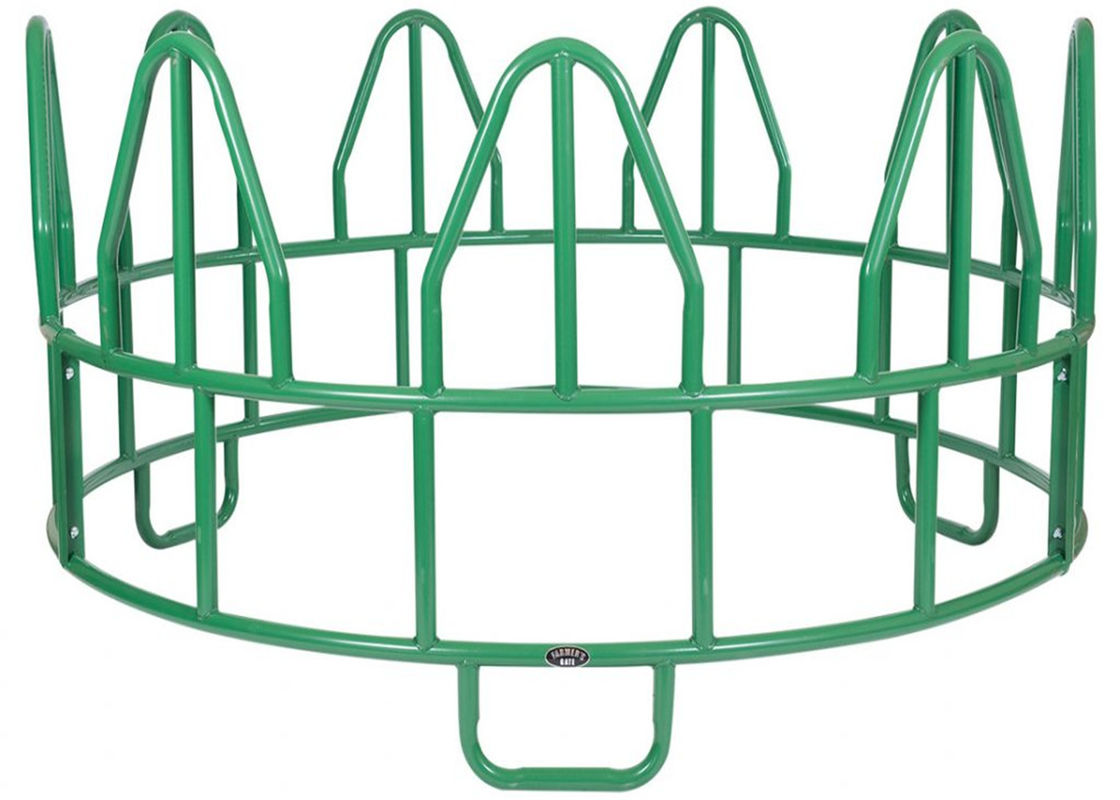 HEAVY OPEN BOTTOM HORSE ROUND BALE FEEDER supplier