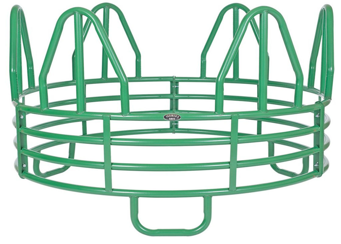 Horse Round MINIATURE 4-RING HORSE ROUND BALE FEEDER supplier
