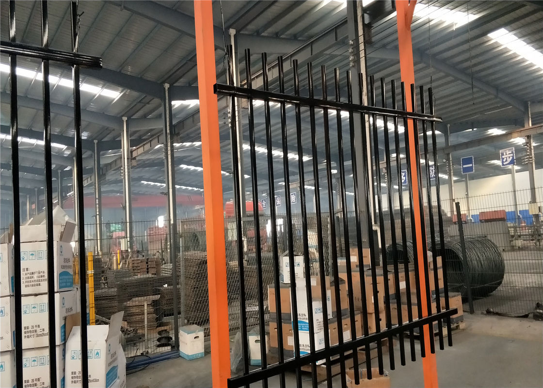 1800mm height garrison security fencing supplier
