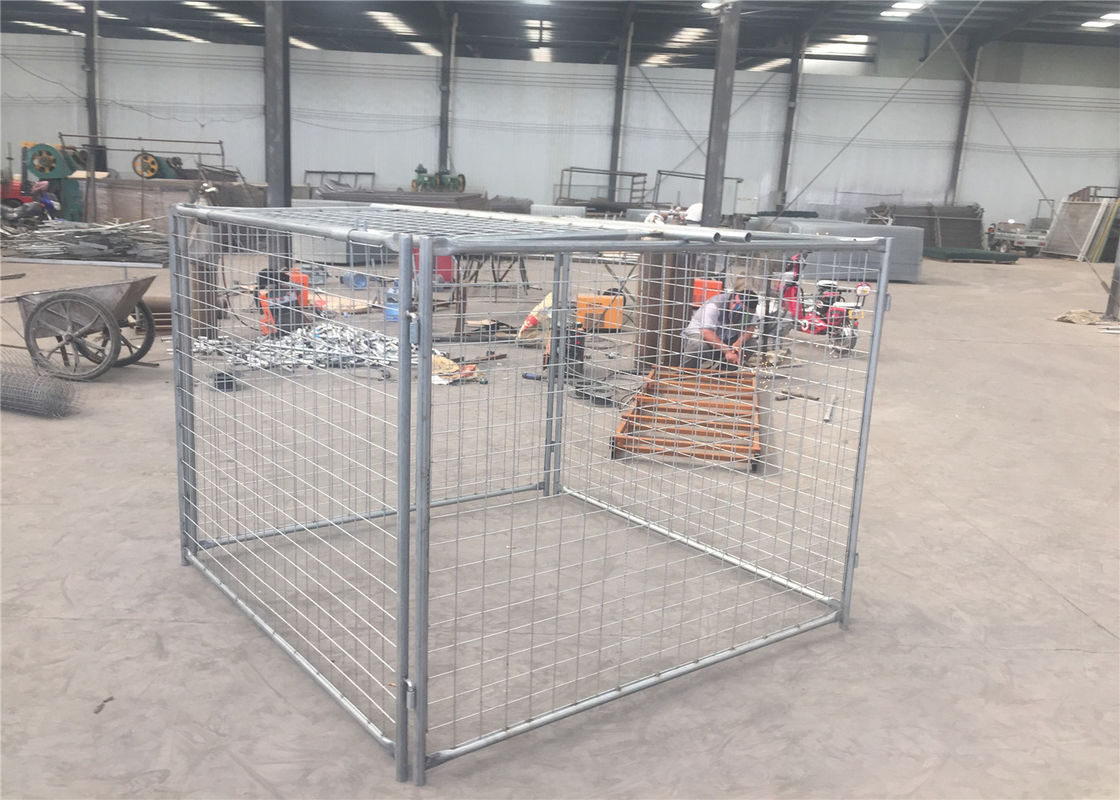 1500mm x 2000mm x 2000mm large size rubbish cage hot dipped galvanized rubbish cage contain supplier