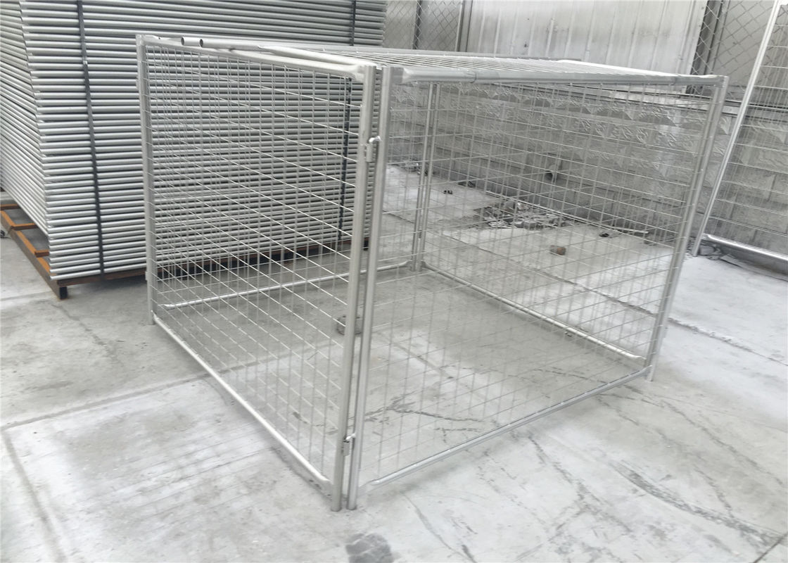 1500mm height x 1800mm width x 1800mm width tube 32mm*1.5mm wall thick rubbish containments and cage supplier