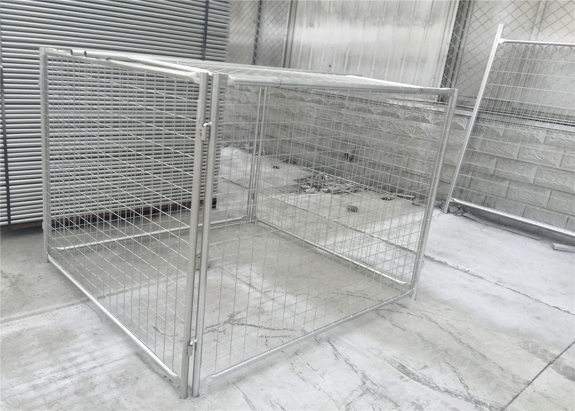 Galvanized Steel Wire Mesh Rubbish Cage construction site supplier