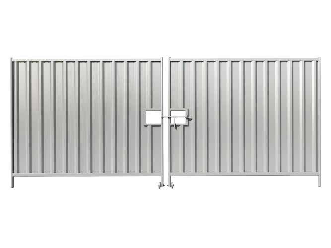 Temporary Hoarding Pedestrian and Vehicle Gates supplier