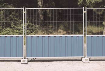 M825 Cityfence + M400 mesh heras Steel Temporary Hoarding supplier