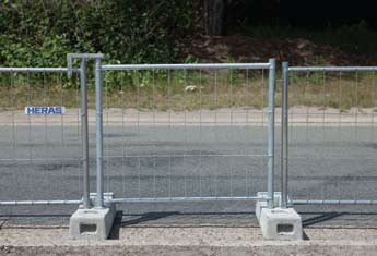 M100 Pedestrian gate Heras 1000MM H supplier