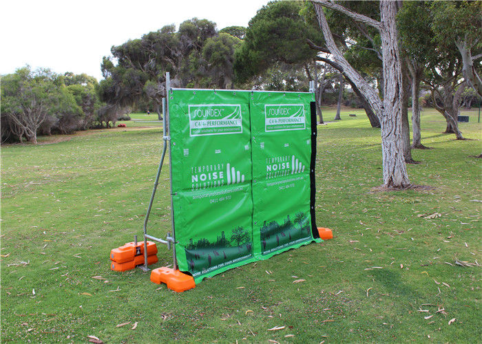 Acoustical Fence Portable Soundproof Fence 40dB