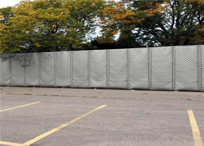 Temporary Higway Noise Barriers Portable Soundproof Fencing PVC materials 7.1kg/pcs Light Duty supplier