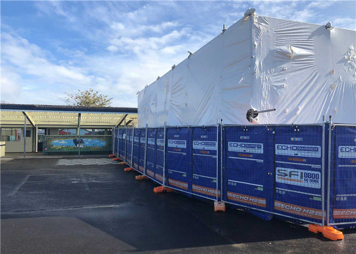 Portable Acoustic BARRIER for constrution fencing panels supplier