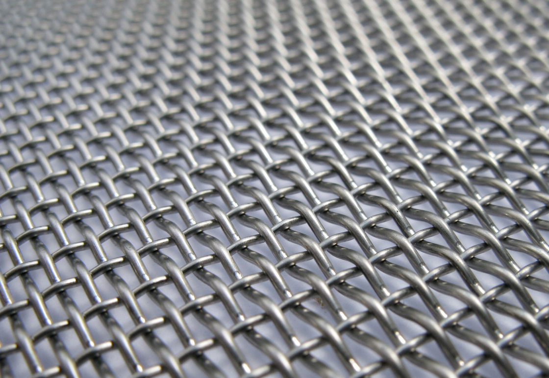 65 Mn Woven Crimped Wire Vibrating Screen Mesh for Vibrating Stone /Gold Ore/ Coal Mine /Copper Mine supplier