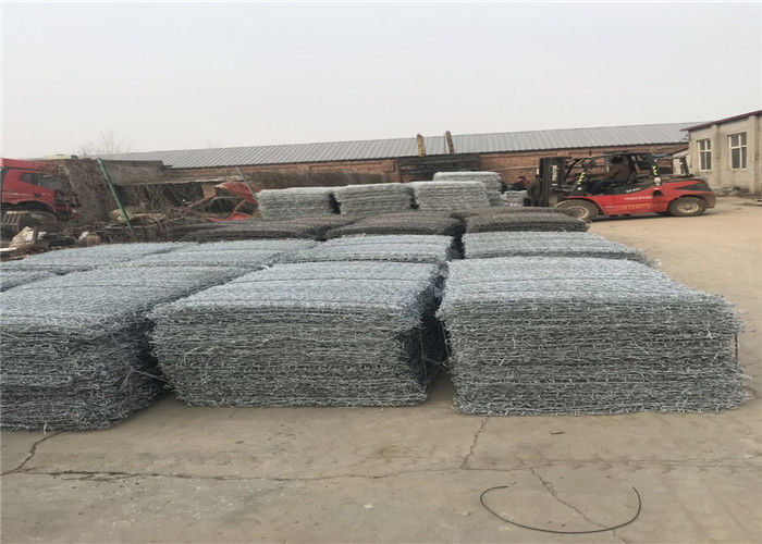 hot dipped galvanized 250g/m2 steel wire reno mattress sea reclamation supplier