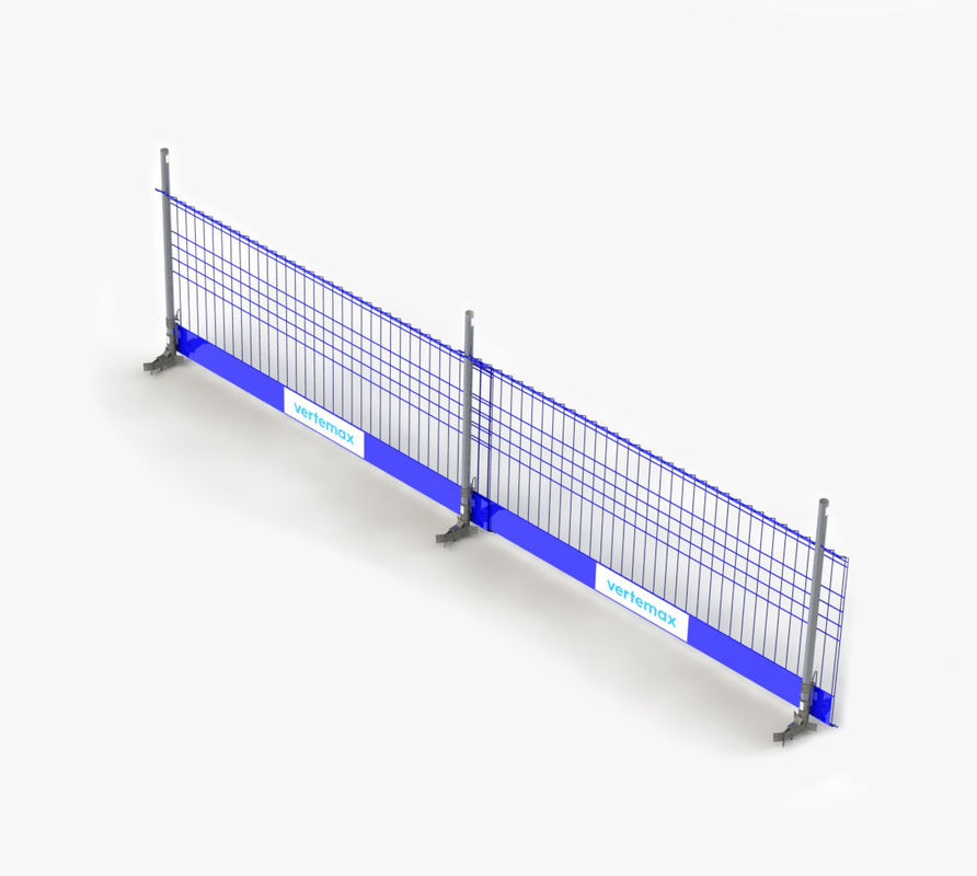 Portable Powder Coated Temporary Edge Fall Protection Barrier supplier