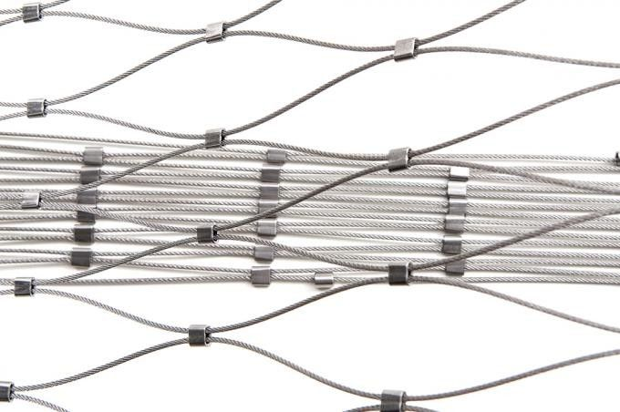 Stainless Steel Grade Flexible Wire Rope Mesh Netting supplier