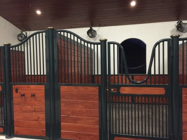Powder Painted Horse Stable supplier