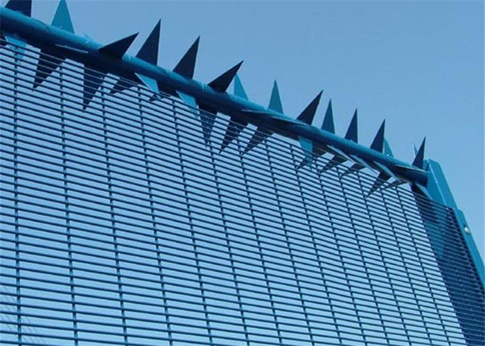 High Security Wire Mesh Fence galvanized 358 Fence welded wire mesh panel fencing supplier