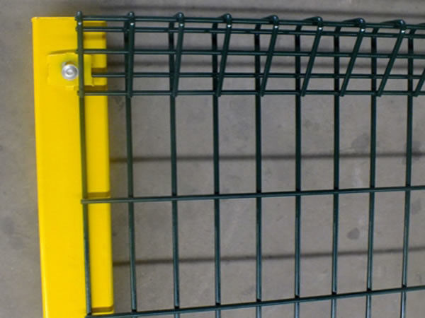 Galvanized Roll Top And Bottom BRC Fence Panel With 50× 150mm supplier