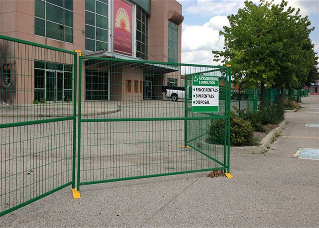 Temporary Construction Temporary Fencing For Canada Market supplier
