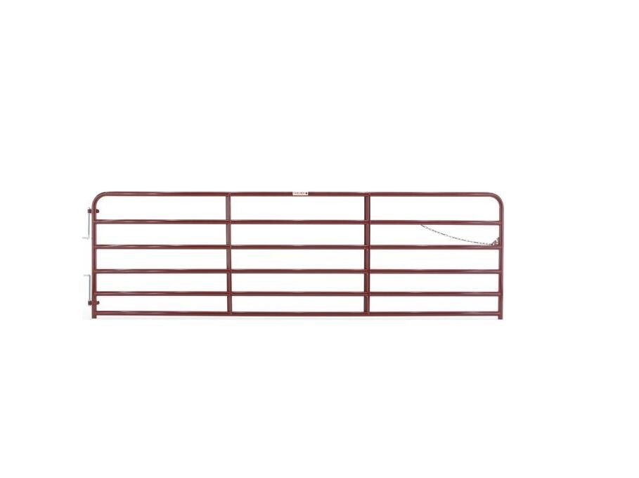 Farm & Ranch / Fencing & Gates/ Painted 2 in. Tube Gate, 14 ft.