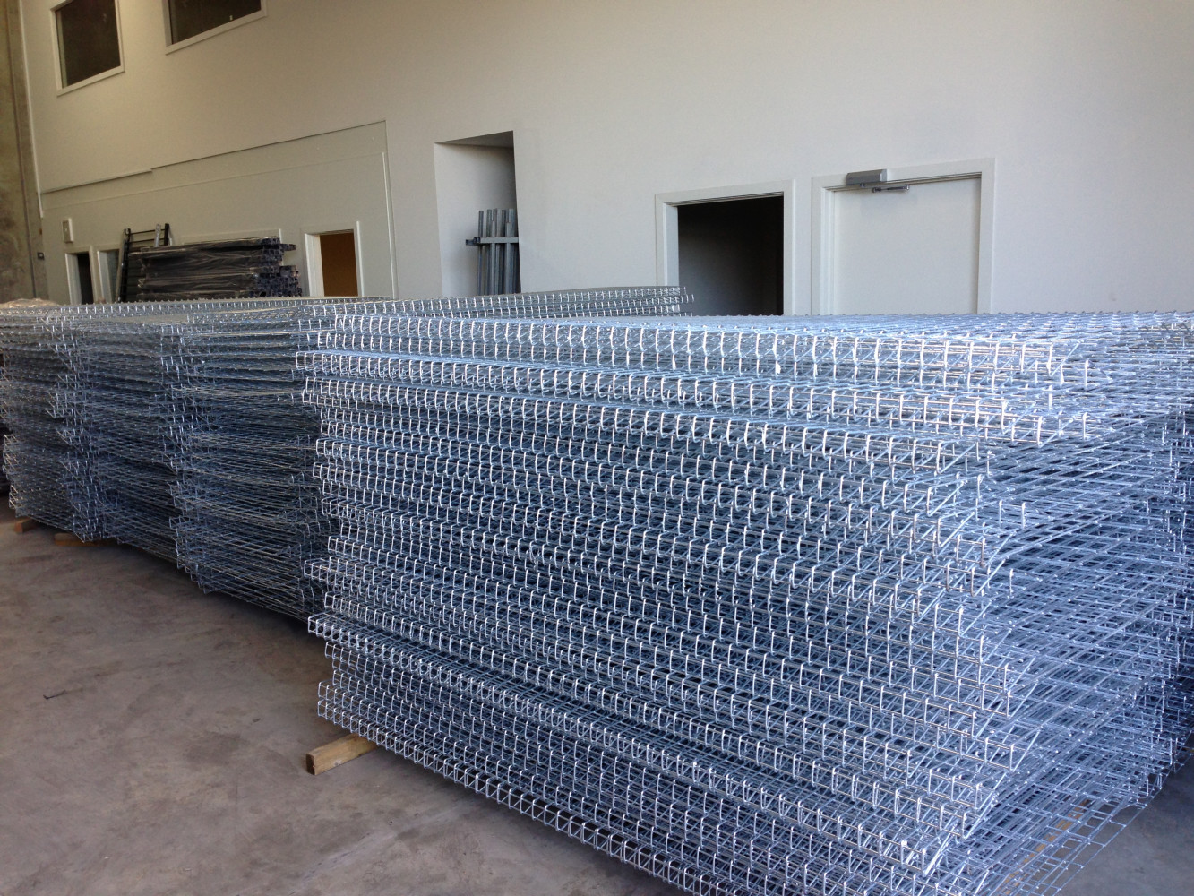 hot dipped galvanized fence panels, galvanized low price brc fence