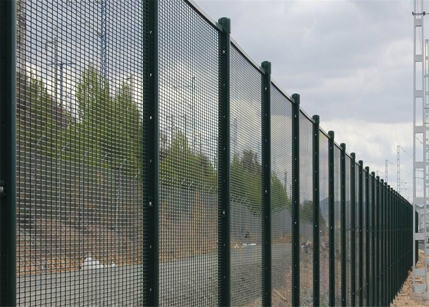 High Density Prison Military High Security 358 Fence Anti