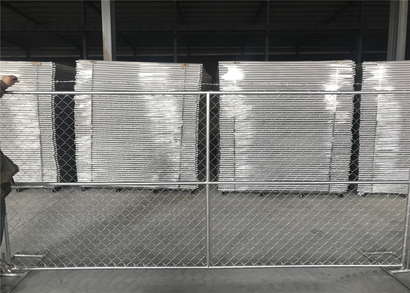 6 X12 Chain Link Fence Panels Construction Security 1⅝
