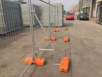 AS4687 -2007  Temporary  Fencing Panels ,Clamp ,Feet HDG 42 microns UV treatment base Made In China ,China Manufacurer