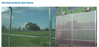 Serried Vertical Wire Fence ,Security 358 Fence ,Weld 358 Wire Fence