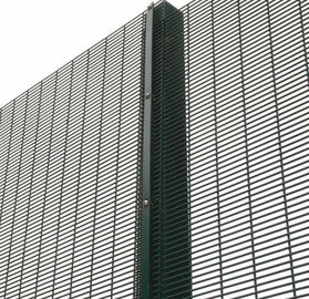 2015 Factory price 2x2 welded wire 358 security fence prison mesh
