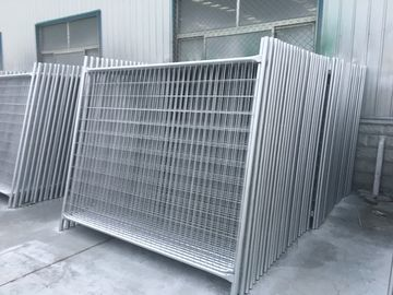 temporary fence panel for construction site / event