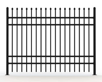 Tutublar Steel Fence deign ,customized tubular fencing for sale