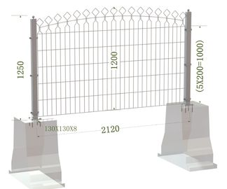 Decorative Metal Arched Wire Mesh Fence,Decorative Powder Coated Arched Top Metal Fence