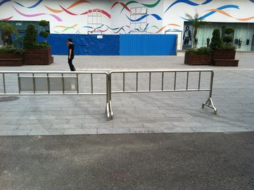 Stainless steel Crowd Control Barriers 304 1000mm x 2500mm width