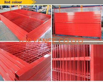 6ft x 10ft  temporary construction fence panels weld mesh temp fencing panels