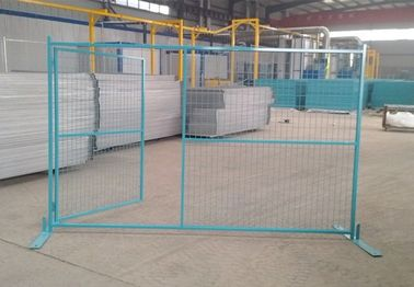 6FT X 9FT Temp Site Fence Galvanized  temporary fencing,high standard construction fence,removable fence