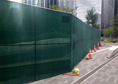 6' Height x 12 ' Width Temporary Chain Link Fence For Construction Security also available 8ft x 12ft cross brace