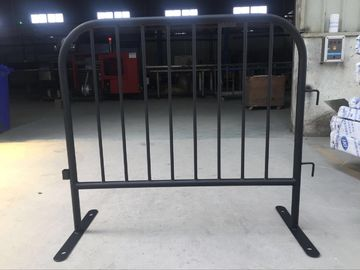 8 Bar Crowd Control Barriers For Belgium 35 mm pipes with a 1.50mm thick finished by fully hot dipped galvanized