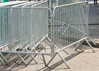 Hot Dipped Galvanized Crowd Control Barriers For Sale ,Availalbe any Size Customized